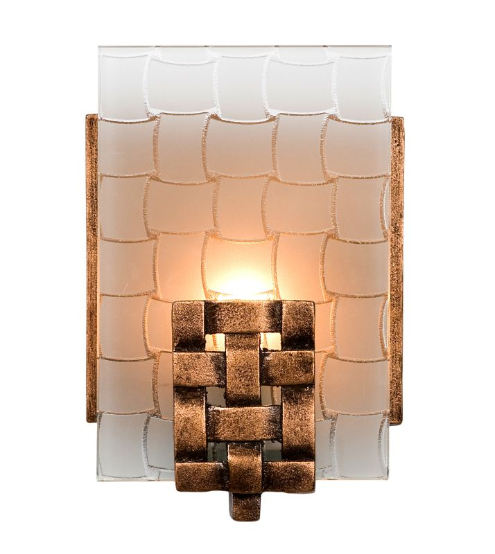Varaluz 180B01 1 Light Horizontal Bathroom Wall Sconce from the