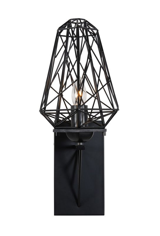 Varaluz 237K01 Wright Stuff 1 Light Wall Sconce Black Indoor Lighting Sale $289.00 ITEM#: 2376230 MODEL# :237K01BL UPC#: 811903020480 :