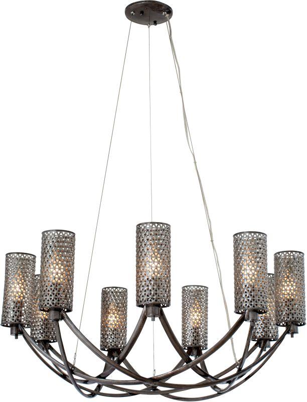 Varaluz 244C09 Casablanca 9 Light Hand Forged Recycled Steel Sale $929.00 ITEM#: 2575708 MODEL# :244C09SL UPC#: 811903021166 :