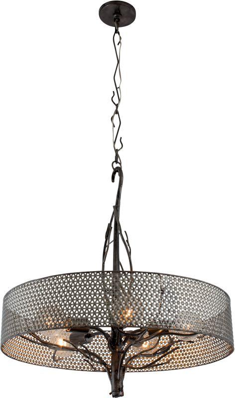 Varaluz 245P05 Treefold 5 Light Pendant Steel Indoor Lighting
