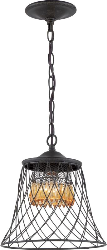 Varaluz 249M01 Madelyn 1 Light Pendant Forged Iron Indoor Lighting