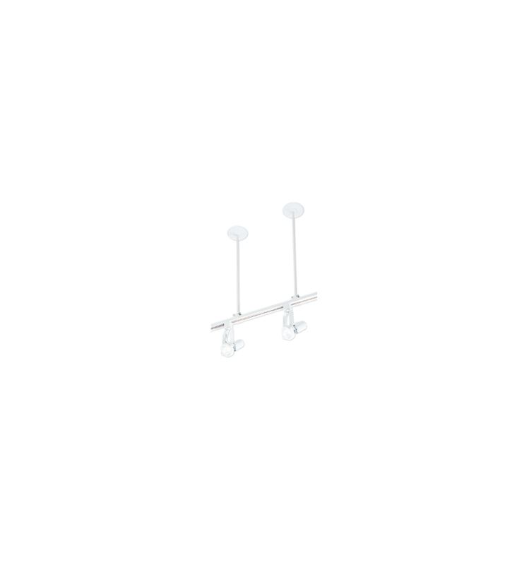 WAC Lighting SK18-WT White Track Lighting Components Suspensions from the Track Lighting Components Collection