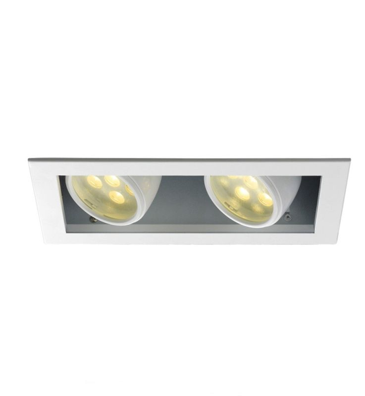 WAC Lighting MT-LED218S-27HS-WT Multiple Spot 2700K High Output LED
