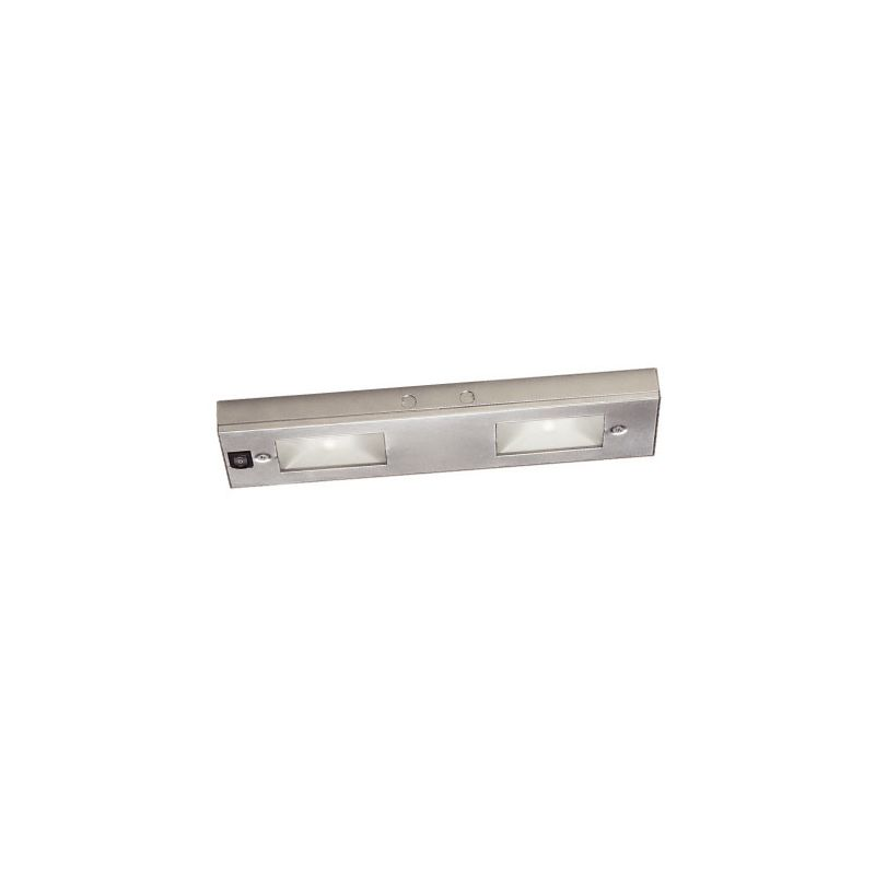 "WAC Lighting BA-LIX-2 12"" Length 2 Light Line Voltage Under Cabinet"