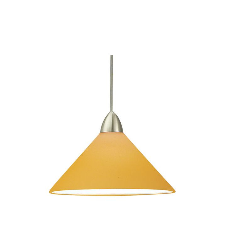WAC Lighting G512 Replacement Glass Shade for 512 Pendant from the Sale $36.00 ITEM#: 306330 MODEL# :G512-AM UPC#: 790576054216 :