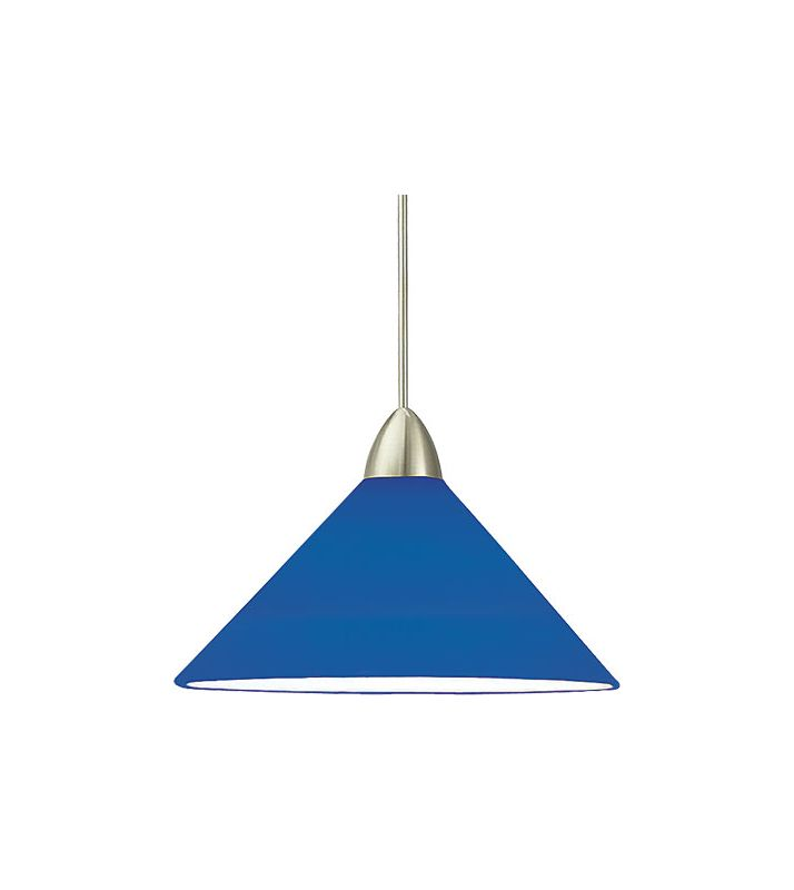 WAC Lighting G512 Replacement Glass Shade for 512 Pendant from the Sale $36.00 ITEM#: 306331 MODEL# :G512-BL UPC#: 790576054186 :