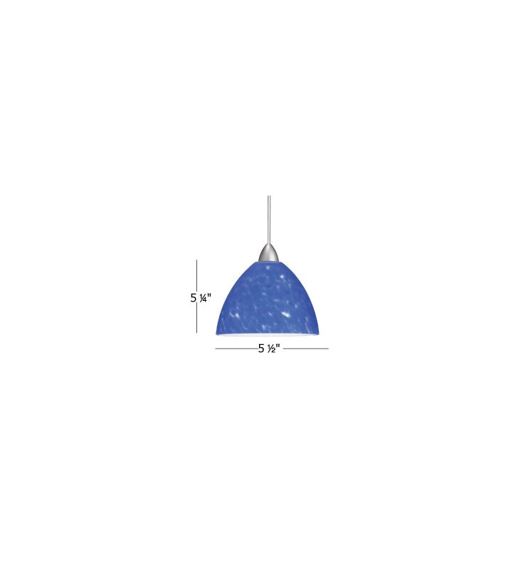 WAC Lighting G541 Replacement Glass Shade for 541 Pendants from the