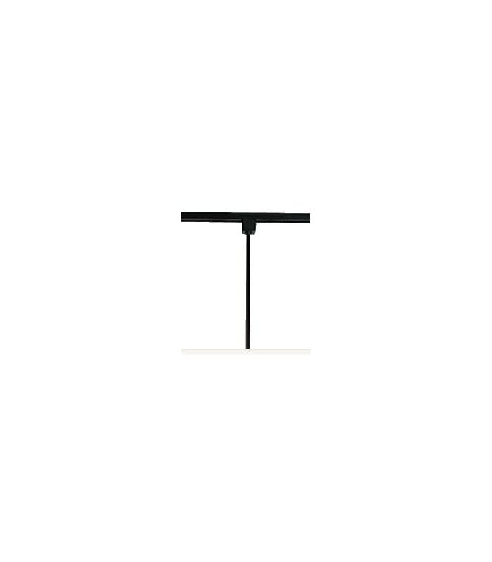 """WAC Lighting H24 24"""" Height Extension Rod for H-Track Systems Black"""