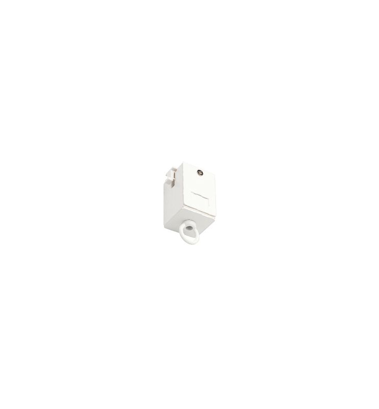 "WAC Lighting L-Loop 3"" Suspension Loop for L-Track Systems White"