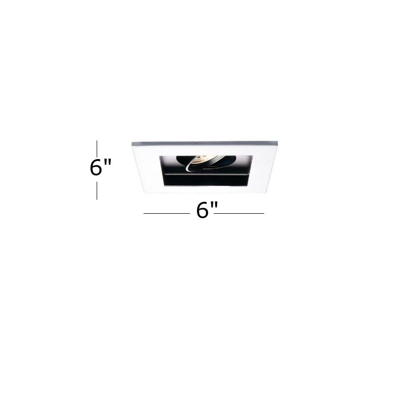 "WAC Lighting MT-116MH-35 6"" Trim Recessed Light Housing for New"
