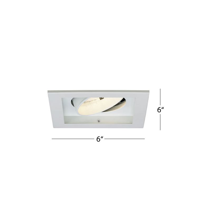 "WAC Lighting MT-130MH-70 6"" Trim Recessed Light Housing for New"