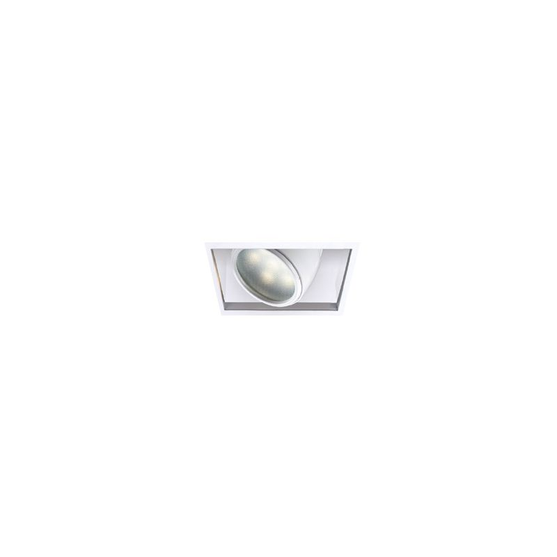 "WAC Lighting MT-LED118TL 4"" LED Recessed Light Invisible Adjustable"