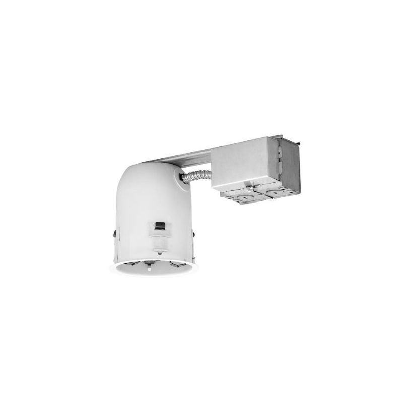 "WAC Lighting R-F406S-R-A 4"" Trim Recessed Light Housing for Remodel"