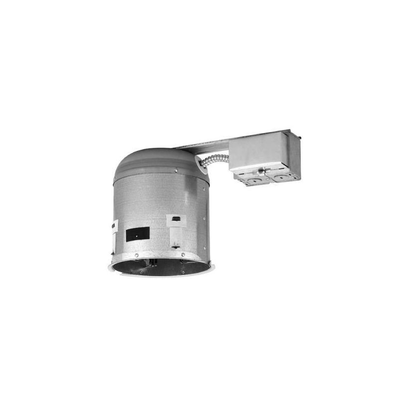 "WAC Lighting R-F608D-R-A 6"" Trim Recessed Light Housing for Remodel"