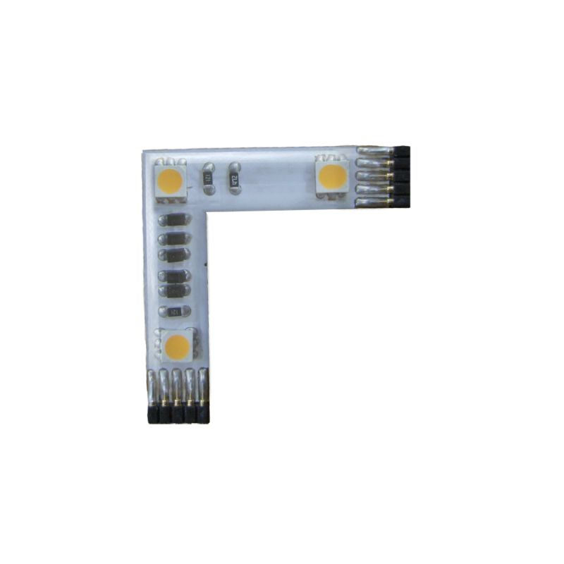 "WAC Lighting LED-T2435-3L-WT 90 Degree InvisiLED ""L"" Connector White"