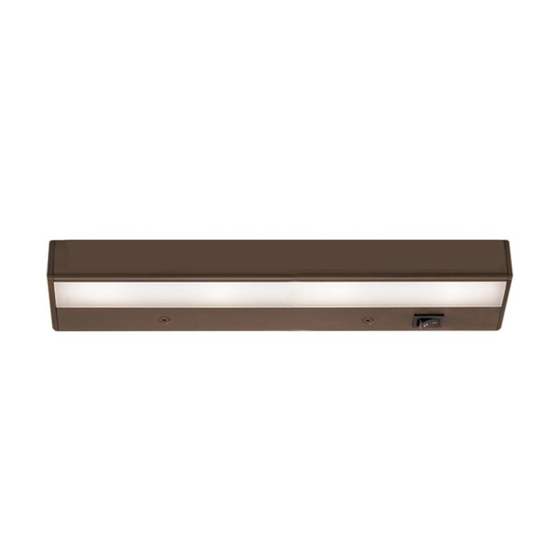 "WAC Lighting BA-LED4 12"" Length 3000K High Output LED Under Cabinet"