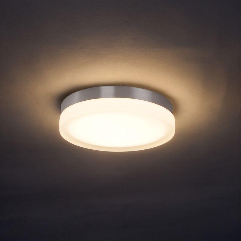 WAC Lighting FM-4109 Slice LED Single-Light 23W Round Flush Mount