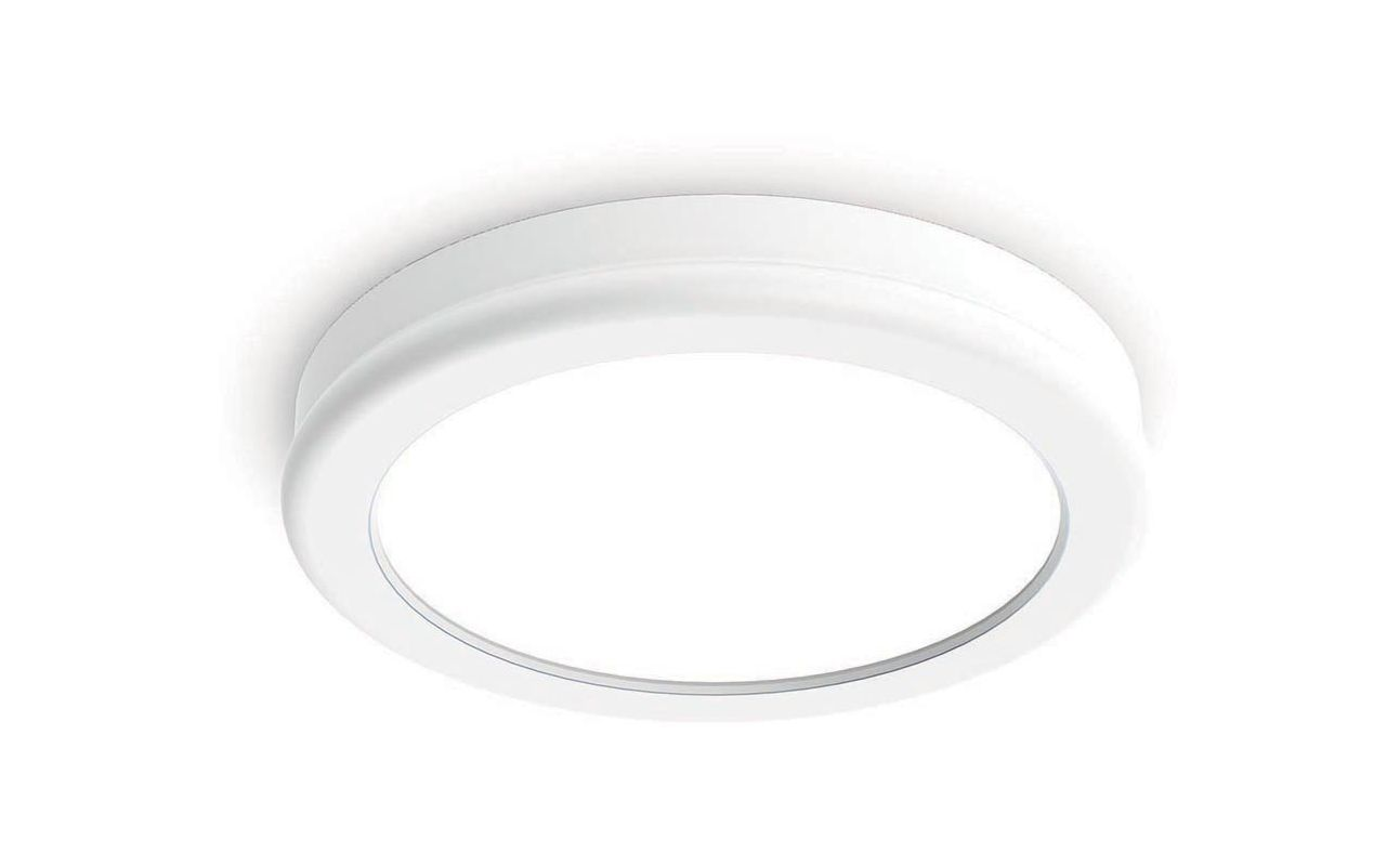 "WAC Lighting FM-4606-30 Geos 6"" LED Dimming 3000K Round Flush Mount Sale $99.00 ITEM#: 2416298 MODEL# :FM-4606-30-WT UPC#: 790576307633 :"