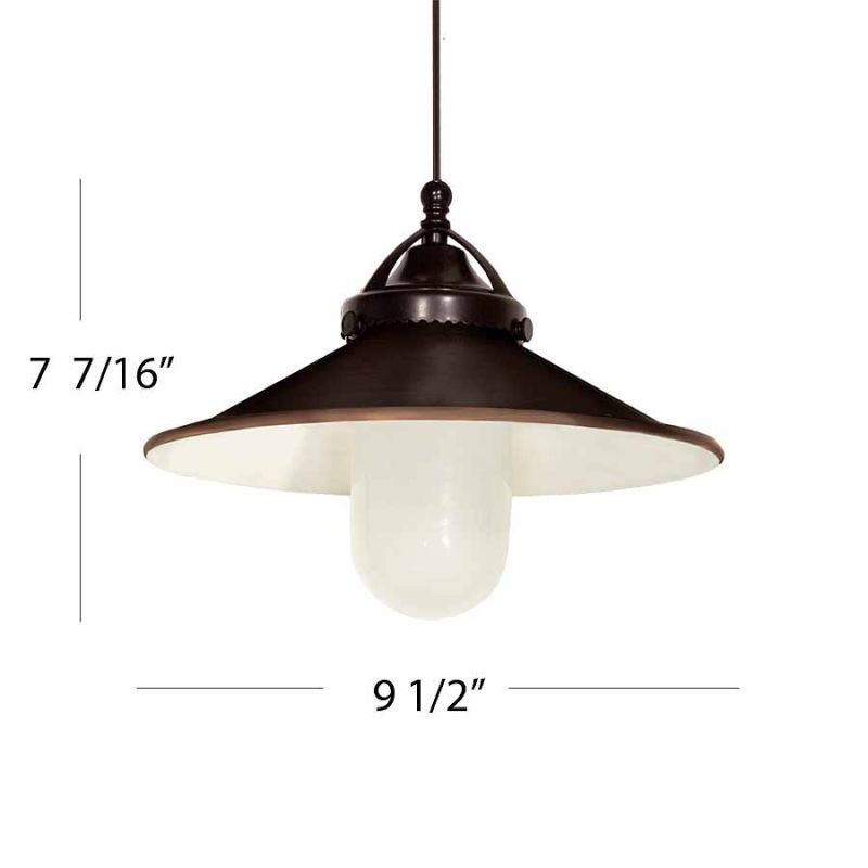 WAC Lighting G481 Freeport Shade Only Antique Bronze Accessory Shades