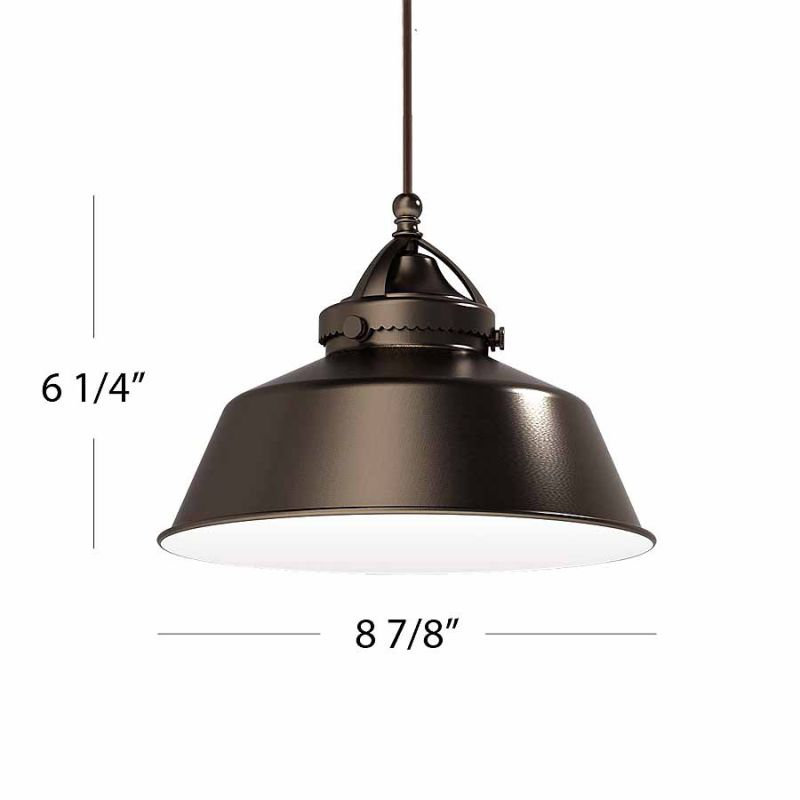 WAC Lighting G483 Wyandotte Shade Only Antique Bronze Accessory Shades Sale $53.50 ITEM#: 2270441 MODEL# :G483-AB UPC#: 790576243986 :