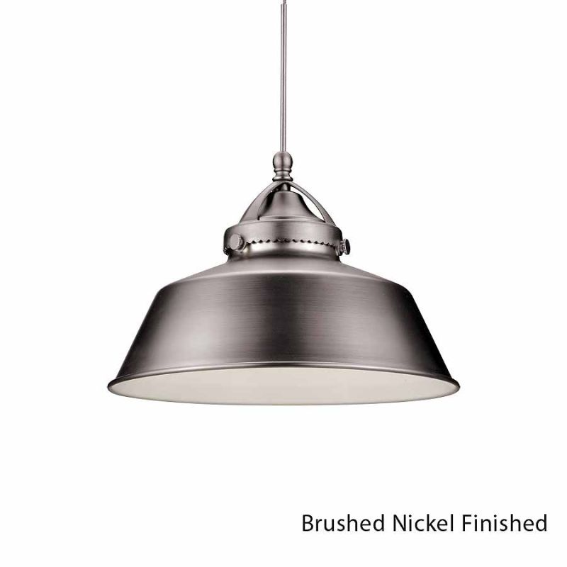 WAC Lighting G483 Wyandotte Shade Only Brushed Nickel Accessory Shades Sale $53.50 ITEM#: 2270442 MODEL# :G483-BN UPC#: 790576243979 :