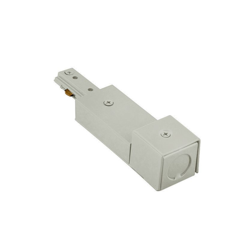 "WAC Lighting HBXLE 5.75"" Length Live End BX Connector for H-Track Sale $18.00 ITEM#: 1153497 MODEL# :HBXLE-BN UPC#: 790576144795 :"