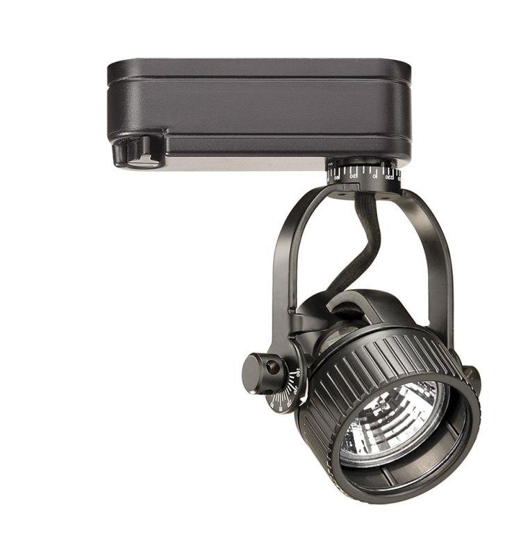 WAC Lighting HHT-164L H Series Low Voltage Track Head 75W Black Indoor