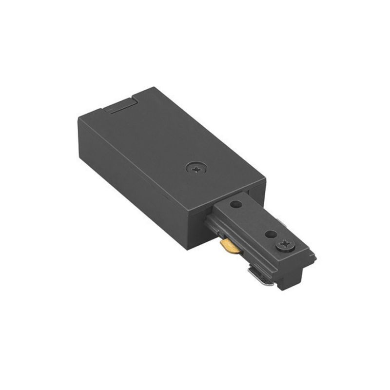 "WAC Lighting HLE 4.25"" Length Live End Connector for H-Track Systems"