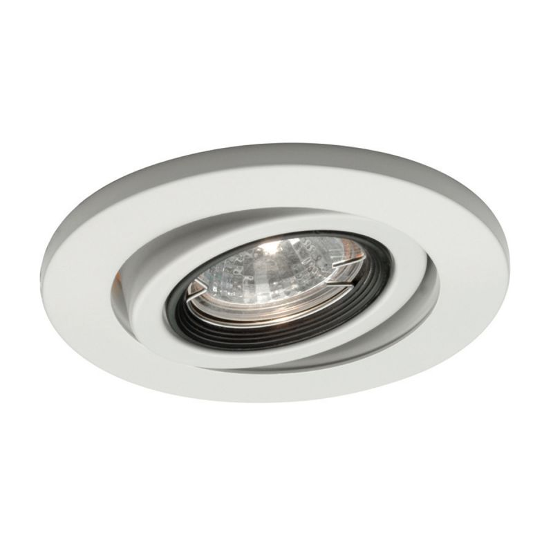 "WAC Lighting HR-D417 4"" Low Voltage Recessed Light Adjustable Trim"