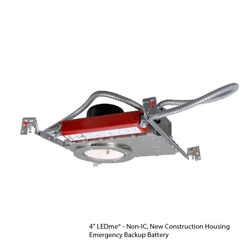 "WAC Lighting HR-LED418-N-ROW-EM 4"" Trim 3000K High Output LED Recessed"