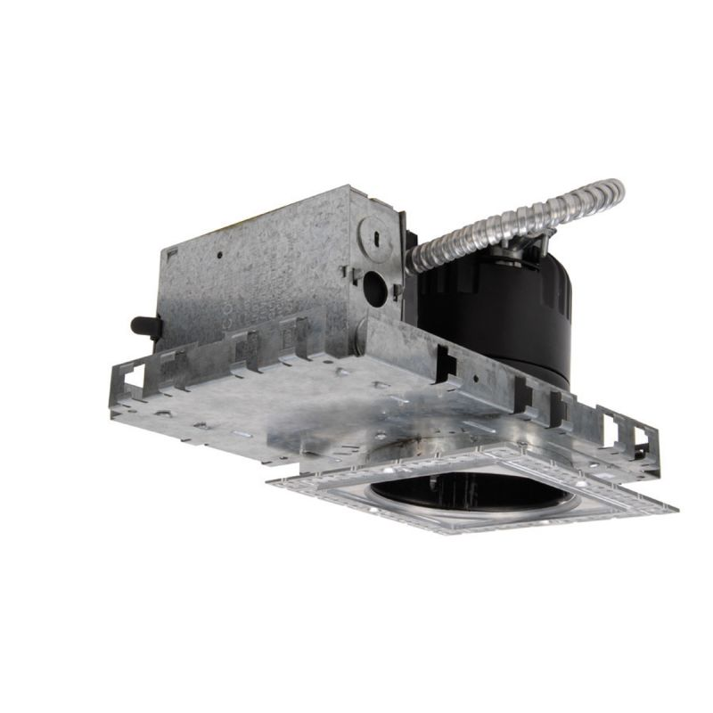 "WAC Lighting HR-LED418-NIC-SQ35 4"" Trim 3500K High Output LED Recessed"