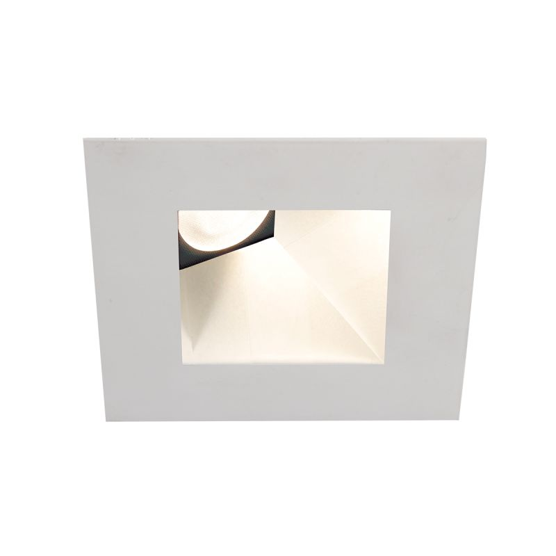 "WAC Lighting HR3LEDT518PN930 Tesla 3.5"" PRO 3000K LED Square Recessed"