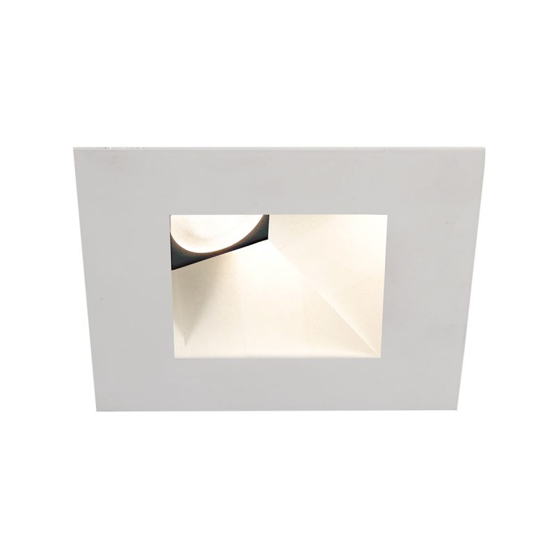 "WAC Lighting HR3LEDT918PN930 Tesla 3.5"" PRO 3000K LED Square Recessed"