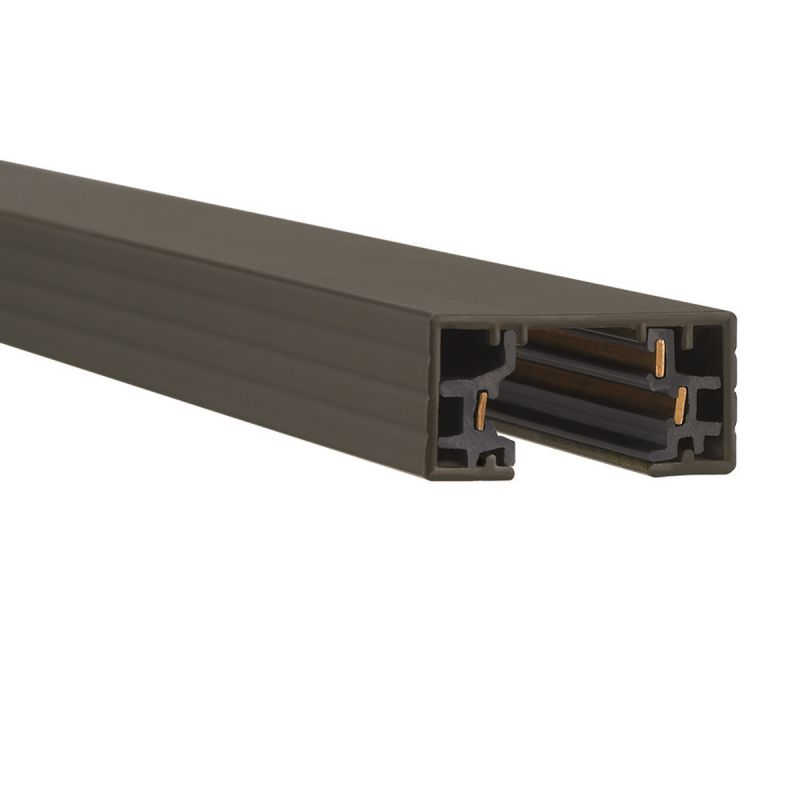 """WAC Lighting HT6 72"""" Length Single Circuit Track Section for H-Track"""