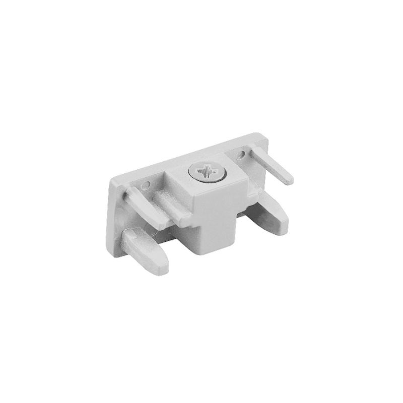 "WAC Lighting L-ENDCAP 1.5"" Length End Cap for L-Track Systems White"