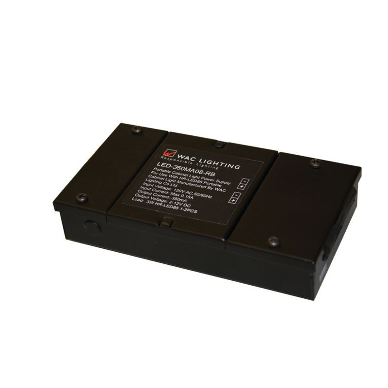 WAC Lighting LED-350MA12 12 Volt Magnetic Transformer for LED Under