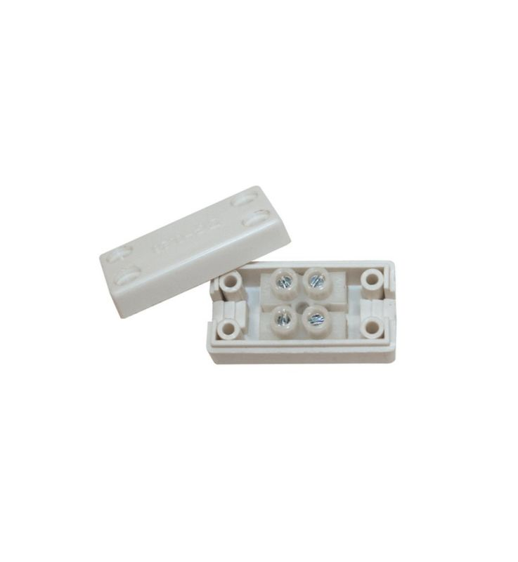 WAC Lighting LED-T-B Low Voltage Wiring Box for LED Tape Light White