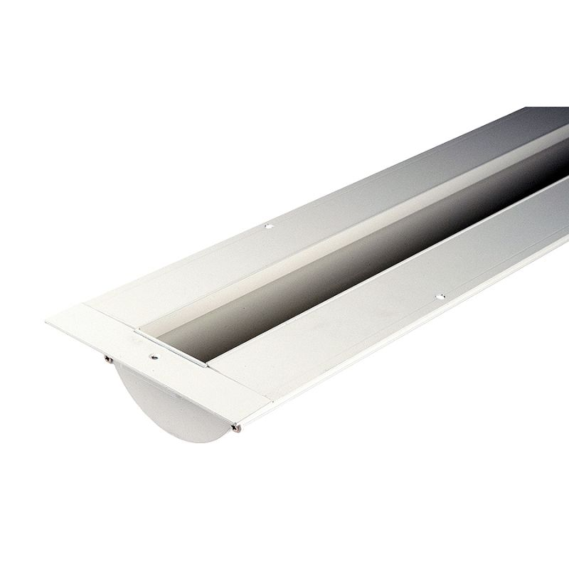 WAC Lighting LED-T-RCH3 InvisiLED Under Cabinet Recessed Channel White
