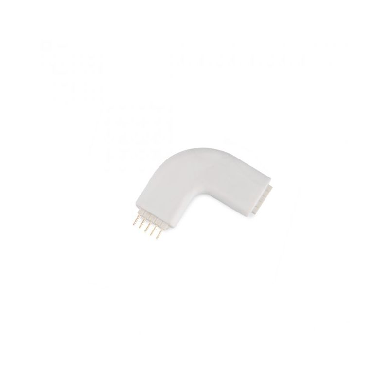 WAC Lighting LED-TC-L 24 Volt L-Connector for LED Tape Light White