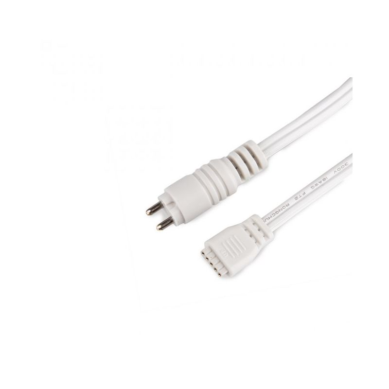 WAC Lighting LED-TC-P-12 InvisiLED 24v Tape Light Connector White