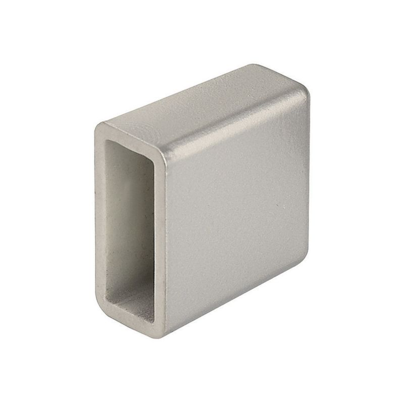 WAC Lighting LM2-EC Two Circuit End Cap for Duorail Systems Brushed