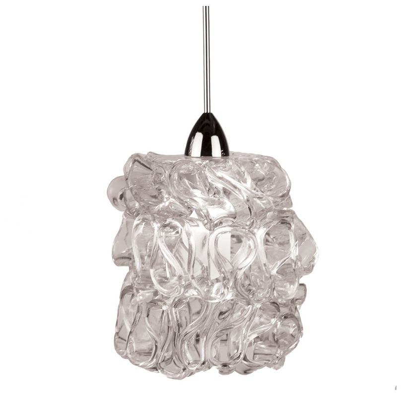 WAC Lighting MP-544 Candy 1 Light Low Voltage Monopoint Mini Pendant - Sale $229.00 ITEM#: 2441050 MODEL# :MP-544-CL/BN UPC#: 790576304496 :