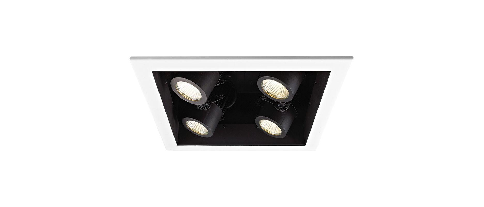 WAC Lighting MT-4LD226N-F30 4 Light Energy Star 3000K High Output LED