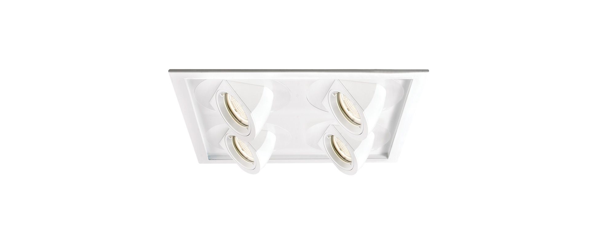 WAC Lighting MT-5LD445H Multiple Spot LED Recessed Light Housing for