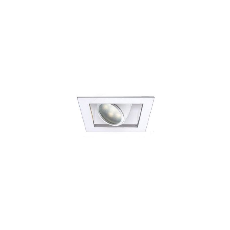 "WAC Lighting MT-LED118F-WWHS 4"" Trim 3000K High Output LED Recessed"