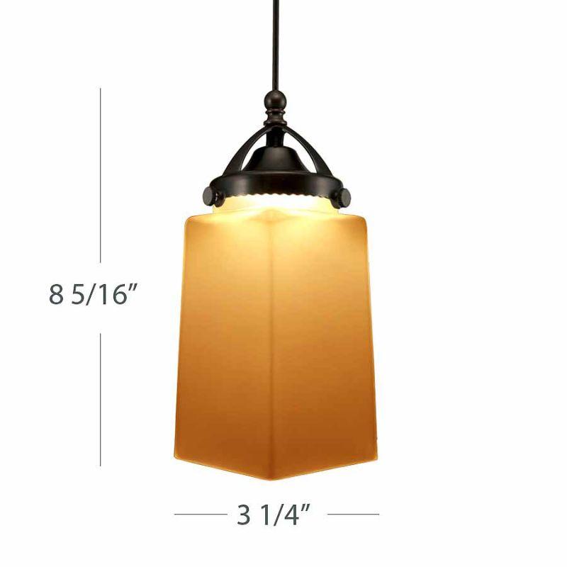 WAC Lighting QP-LED498 Huntington LEDme Quick-Connect Pendant Canopy Sale $167.50 ITEM#: 2270662 MODEL# :QP-LED498-AM/DB UPC#: 790576245775 :