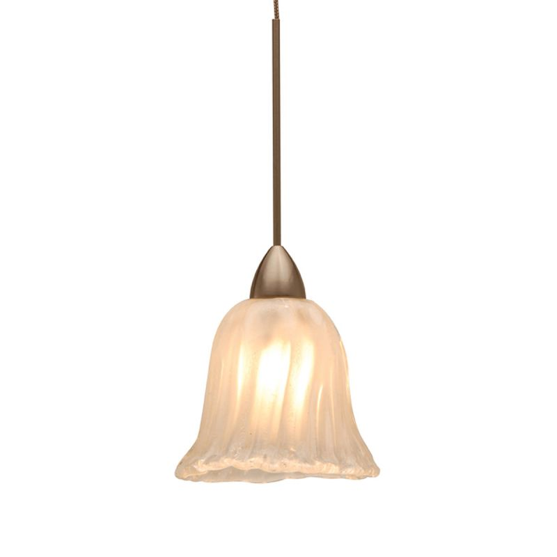 WAC Lighting QP531-FR Florentine Quick Connect Pendant with Frosted Sale $72.00 ITEM#: 2299840 MODEL# :QP531-FR/CH UPC#: 790576219295 :