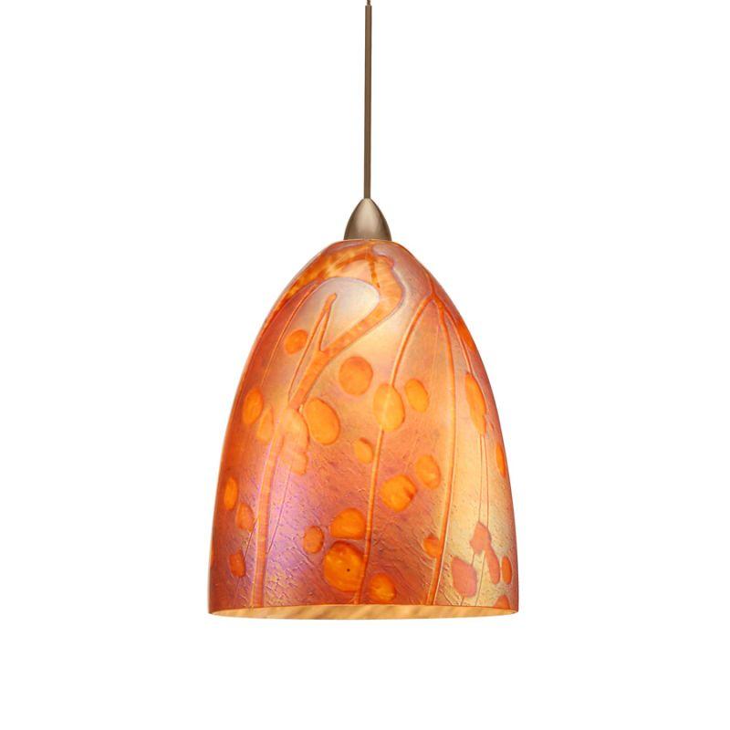 WAC Lighting QP538-IR Gingko Quick Connect Pendant with Iridescent Sale $397.00 ITEM#: 2299848 MODEL# :QP538-IR/BN UPC#: 790576223544 :