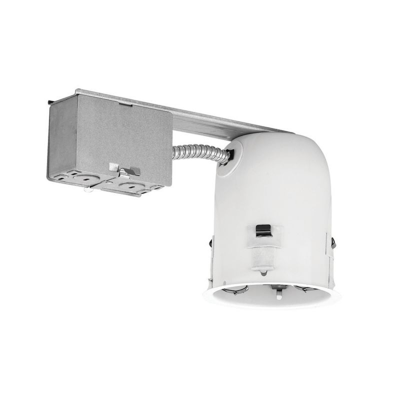 """WAC Lighting R-401S-R-A 4"""" Trim Recessed Light Housing for Remodel"""