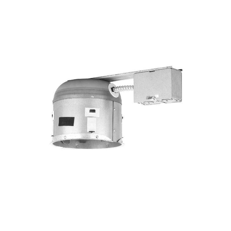"WAC Lighting R-661S-R 6"" Trim Recessed Light Housing for Remodel"